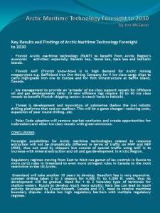 Jon McEwan, Tulevaisuusverstas-esitelmä 11.10.2012