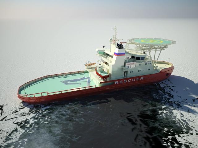 Icebreaking rescue vessel NB 508