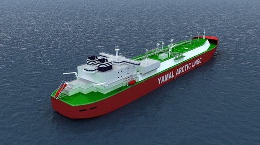 Yamal Arctic LNG carrier. Source: Wärtsilä